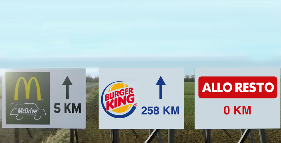 Mcdonald's vs Burger King vs Alloresto
