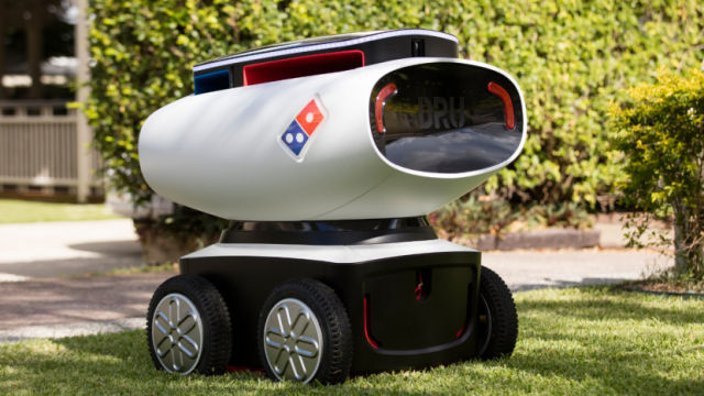 Domino's Robotic Unit (DRU)